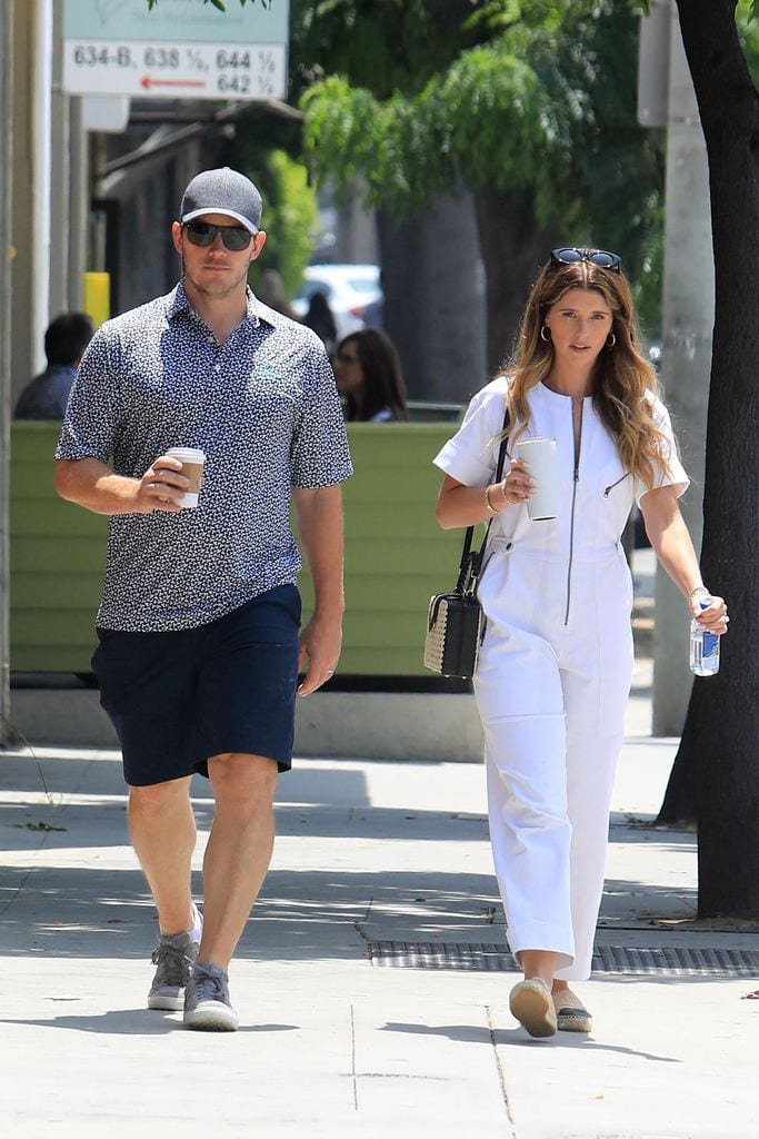 Katherine Schwarzenegger y Chris Pratt embarazo