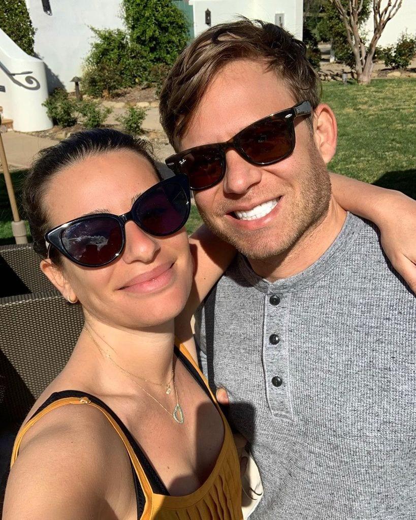 Lea Michele y Zandy Reich embarazo