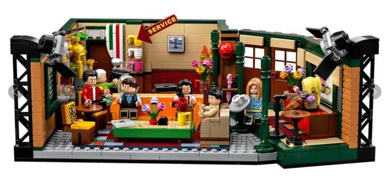 set de Central Perk de la marca Lego