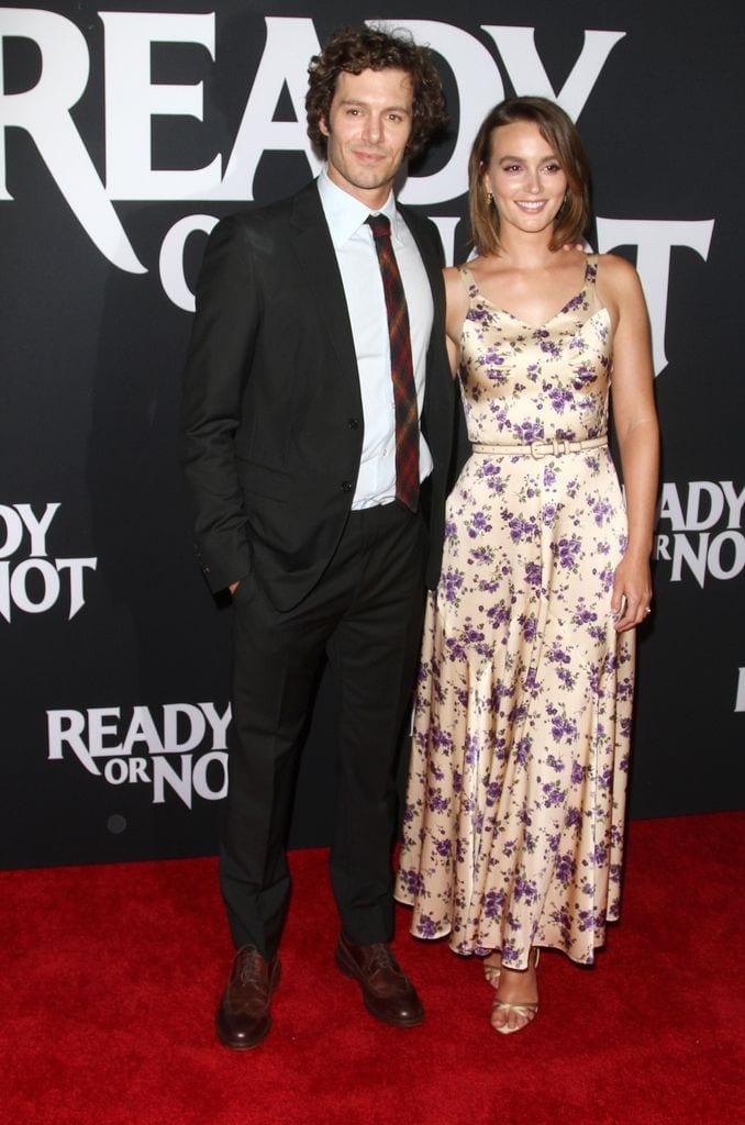 Leighton Meester y Adam Brody embarazo