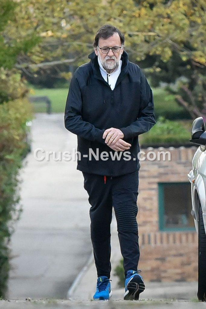 Mariano Rajoy paseo dominical durante el Estado de Alarma