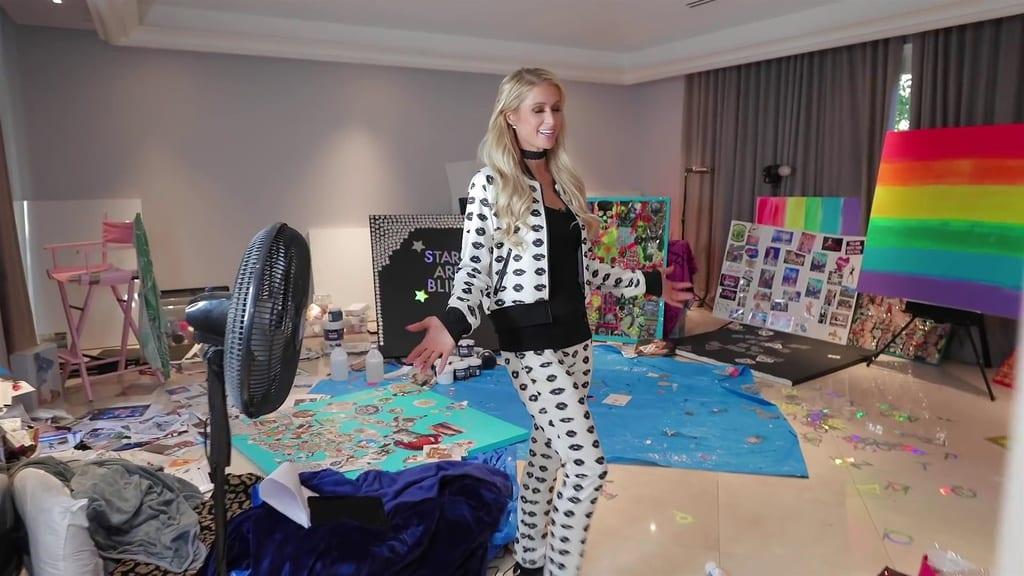 El estudio de Paris Hilton