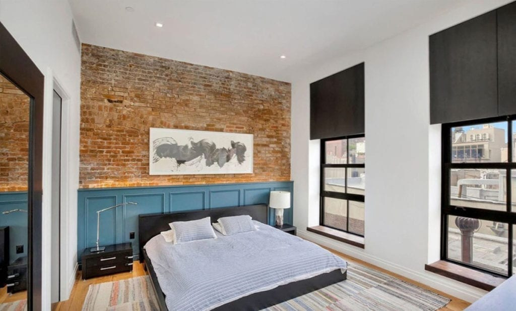 Dormitorio principal de la casa de John Legend.