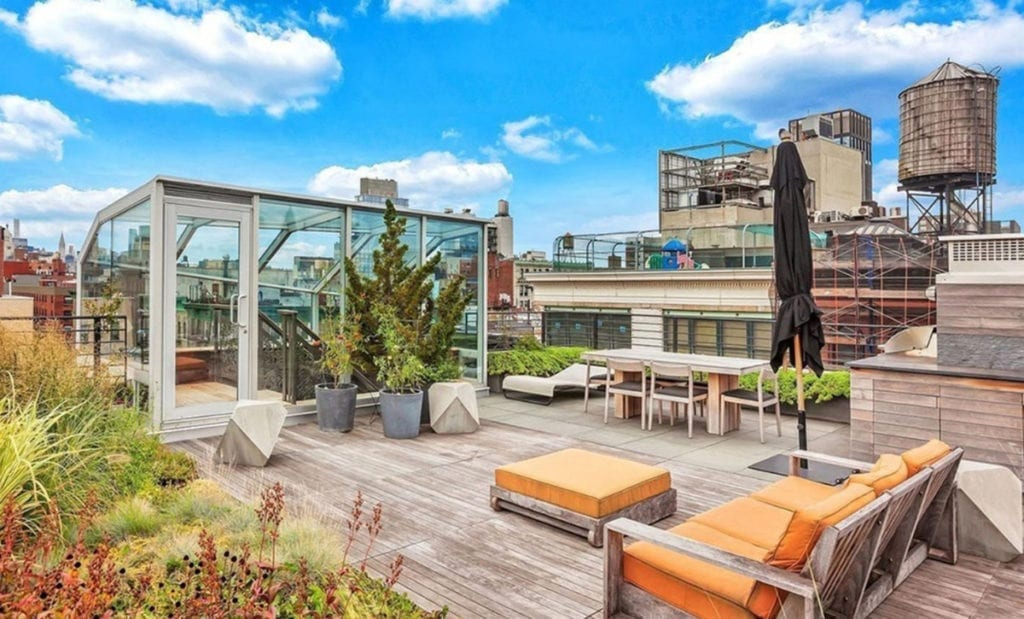 La espectacular terraza de la casa de John Legend.