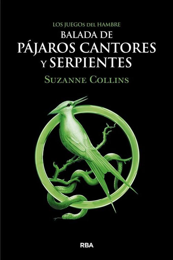 Portada del libro Balada de Pájaros cantores y serpientes, de Suzanne Collinis