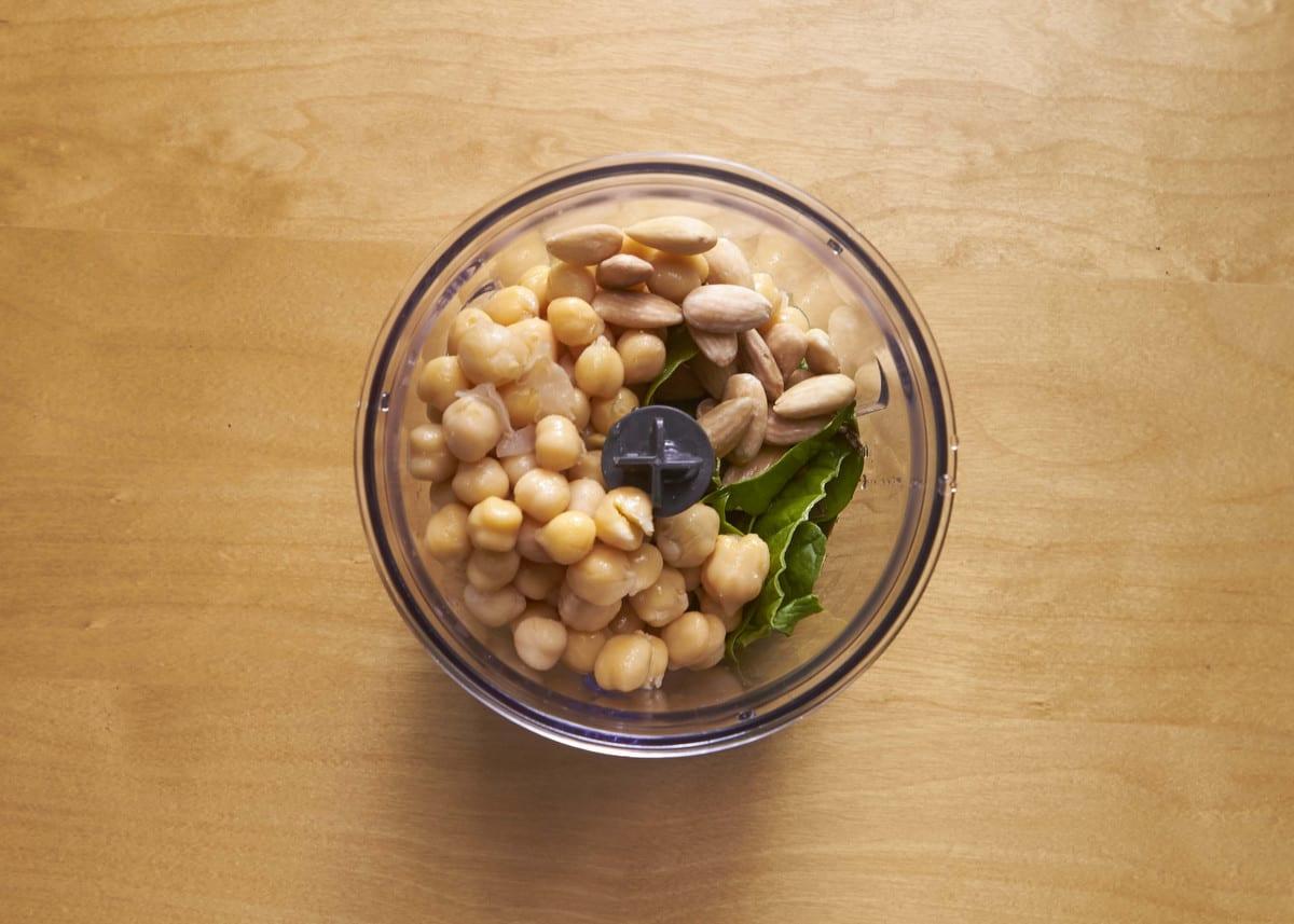 Receta de hummus tricolor