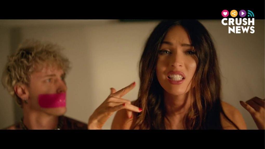 Megan Fox en el videoclip de Machine Gun Kelly.