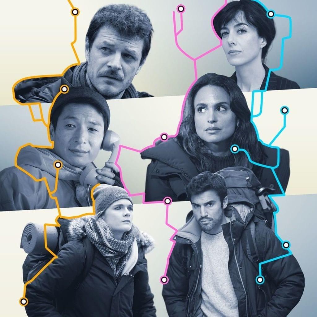 Imagen promocional de la serie '3Caminos'