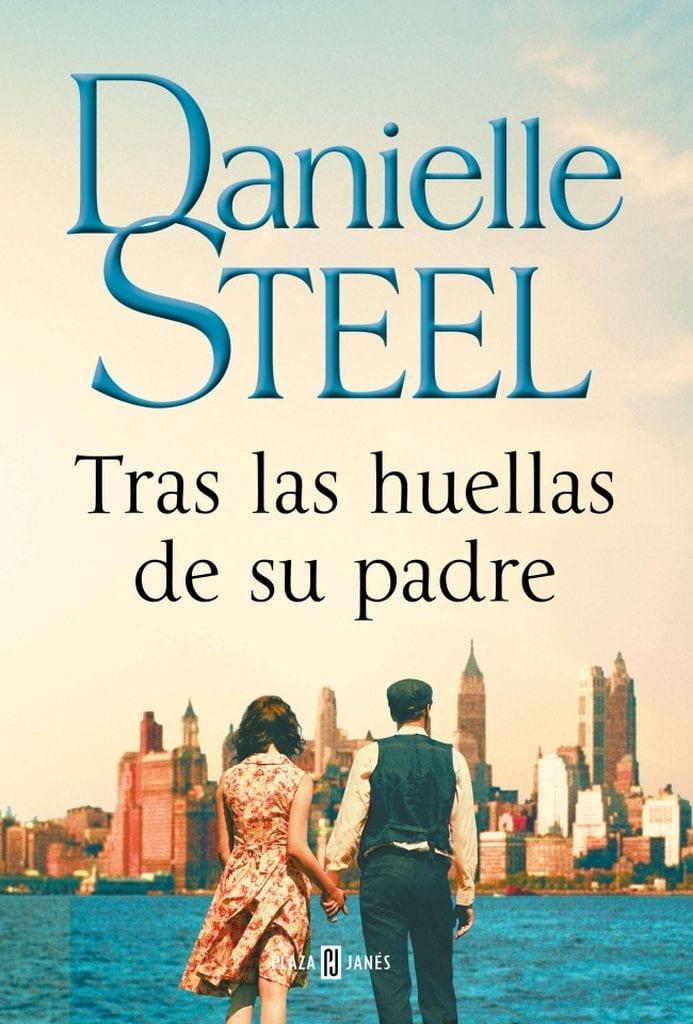 Portada del libro Tras las huellas de su padre, de Danielle Steel