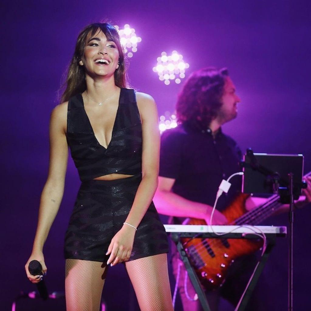 Aitana Ocaña en concierto.