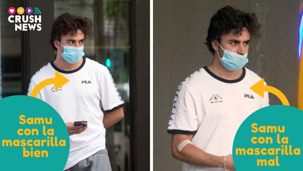 Los actores de Élite se hacen la prueba del coronavirus.