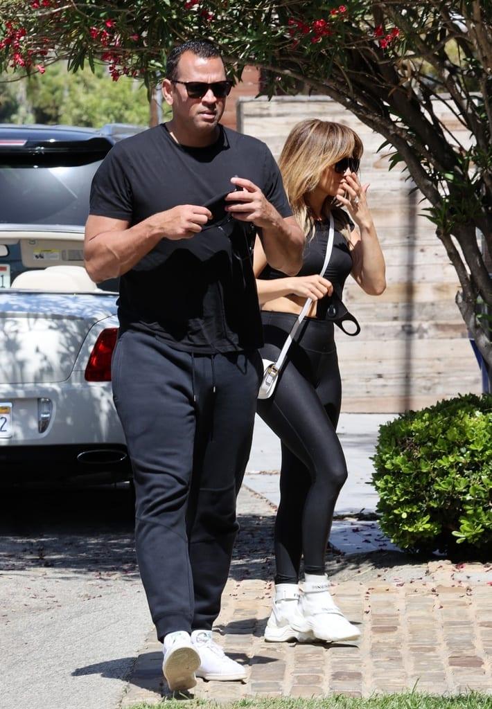 Jennifer Lopez y Alex Rodriguez visitan una casa en Malibú