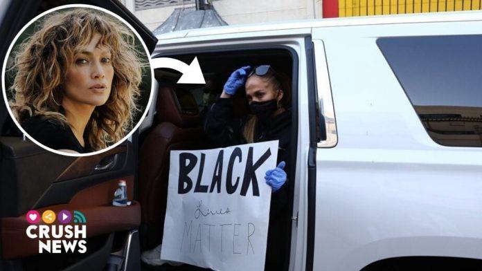 Jennifer Lopez se une al Black Lives Matter.