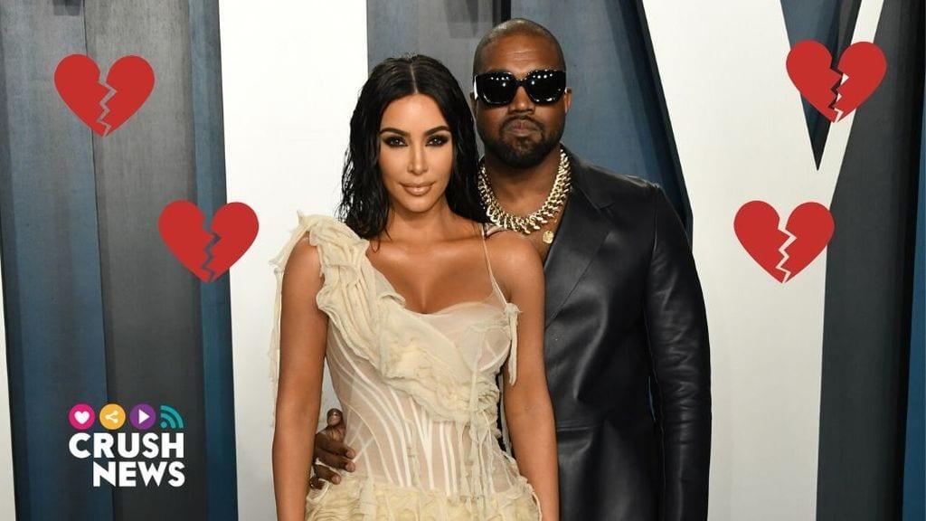 Kim Kardashian y Kanye West, crisis matrimonial