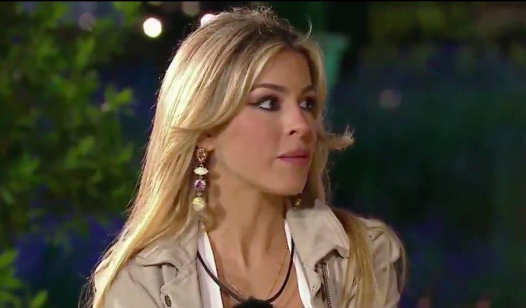 Oriana en el estreno de 'La casa fuerte'.
