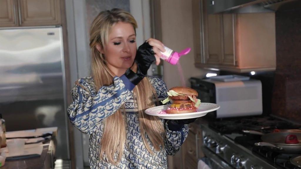La hamburguesa de Paris Hilton.