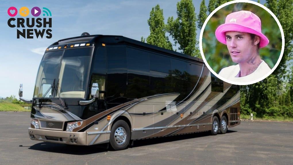 Así es la autocaravana de Justin Bieber por dentro