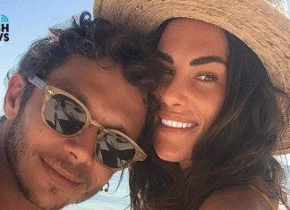 Valentino Rossi y su chica, de lo más pasionales