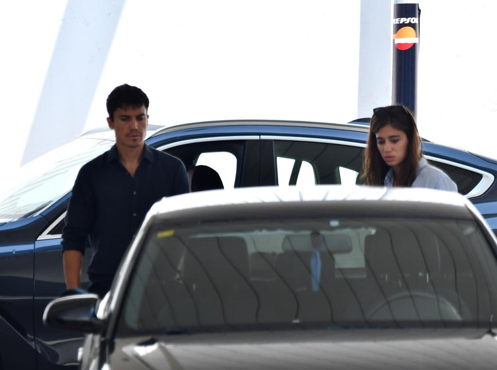 Álex González y Blanca Rodríguez volviendo a