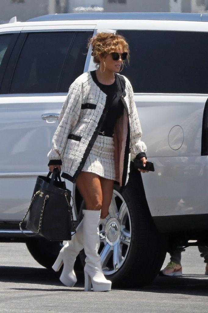 Jennifer Lopez estilismo loco