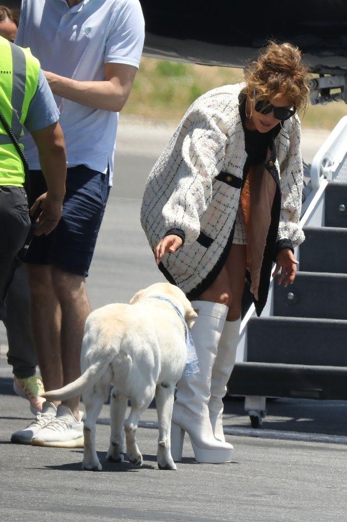 Jennifer Lopez de vacaciones