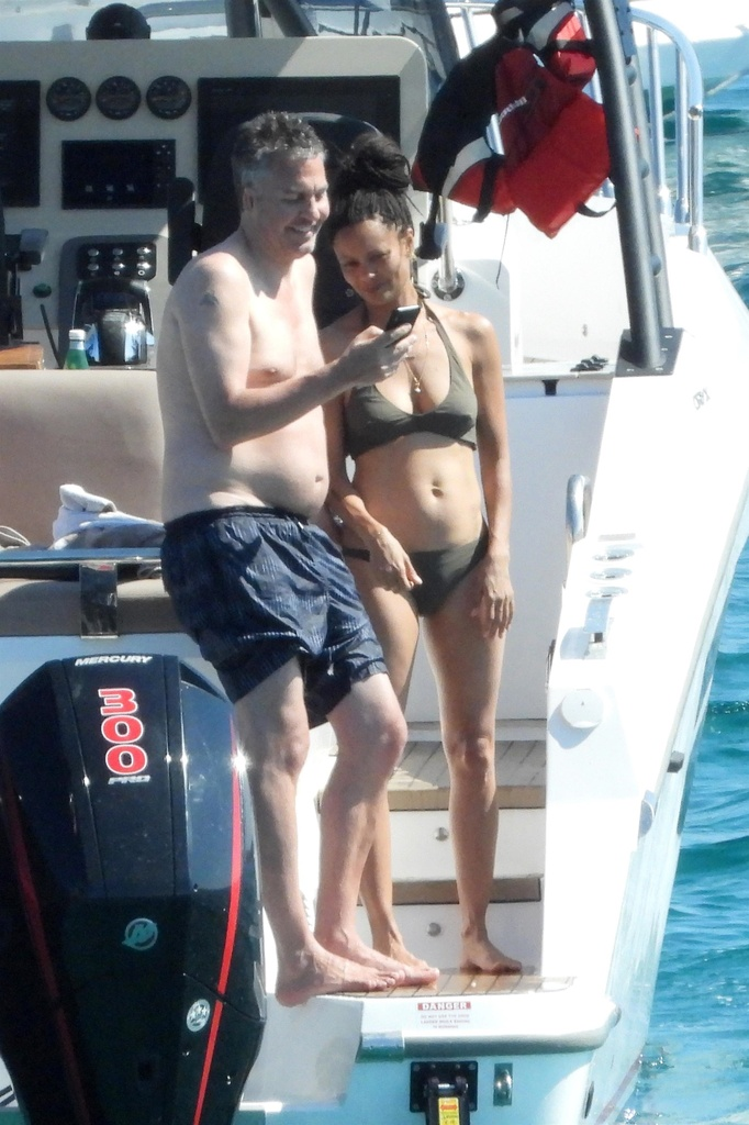 Thandie Newton de WestWorld en Ibiza