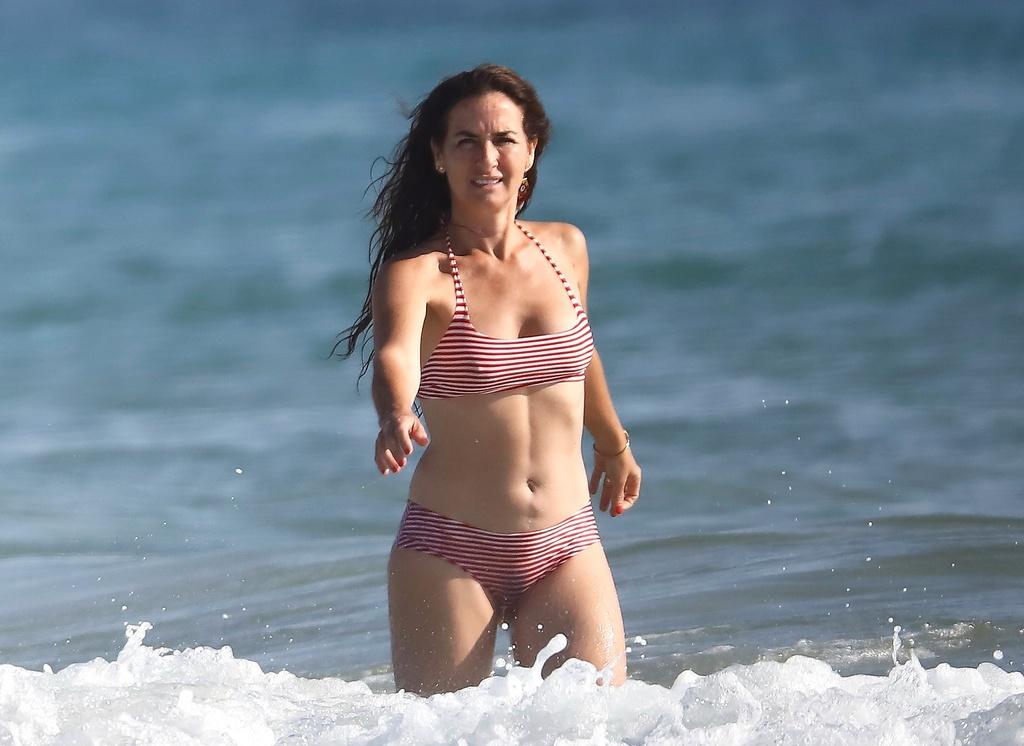 Belén López luce bikini en Cádiz