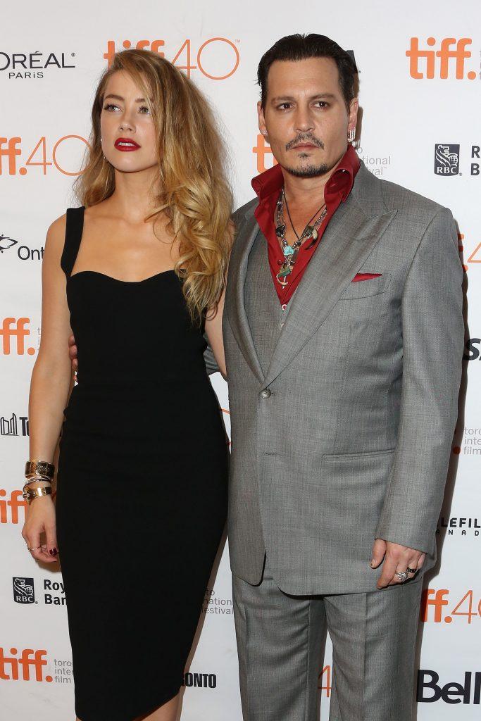 Johnny Depp y Amber Heard cuando se llevaban bien