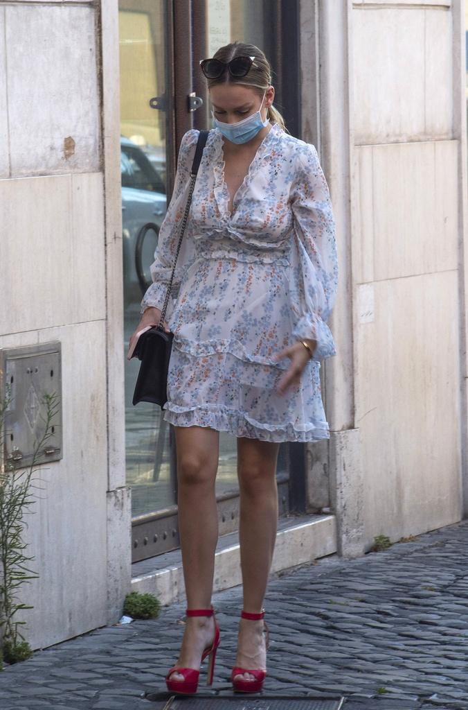 Ester Expósito en Roma.