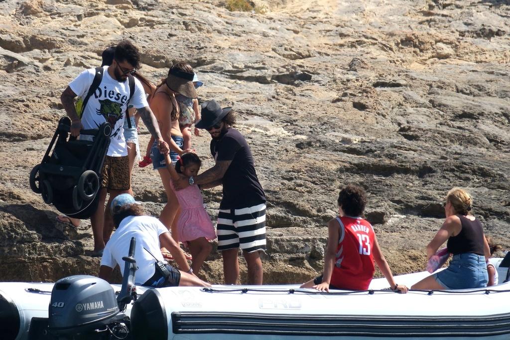 Marcelo de vacaciones con su familia