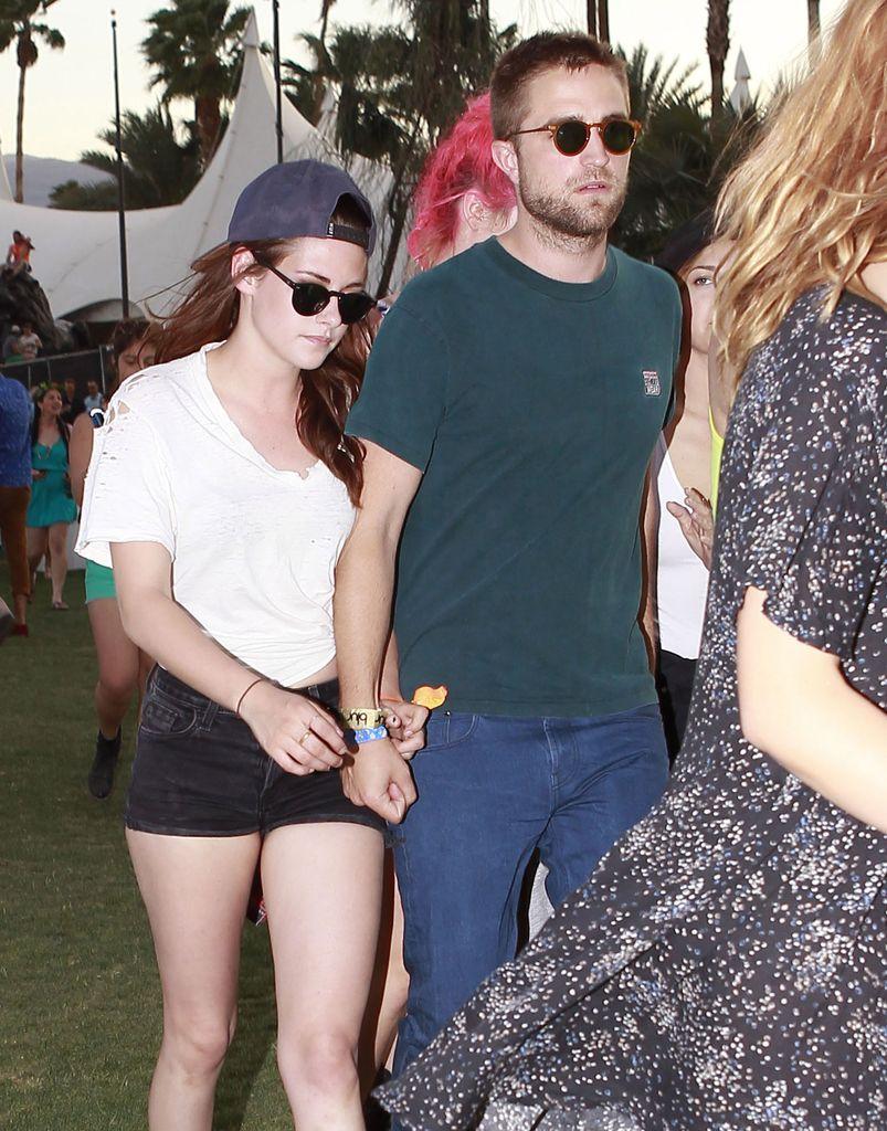 Robert Pattinson y Kristen Stewart.