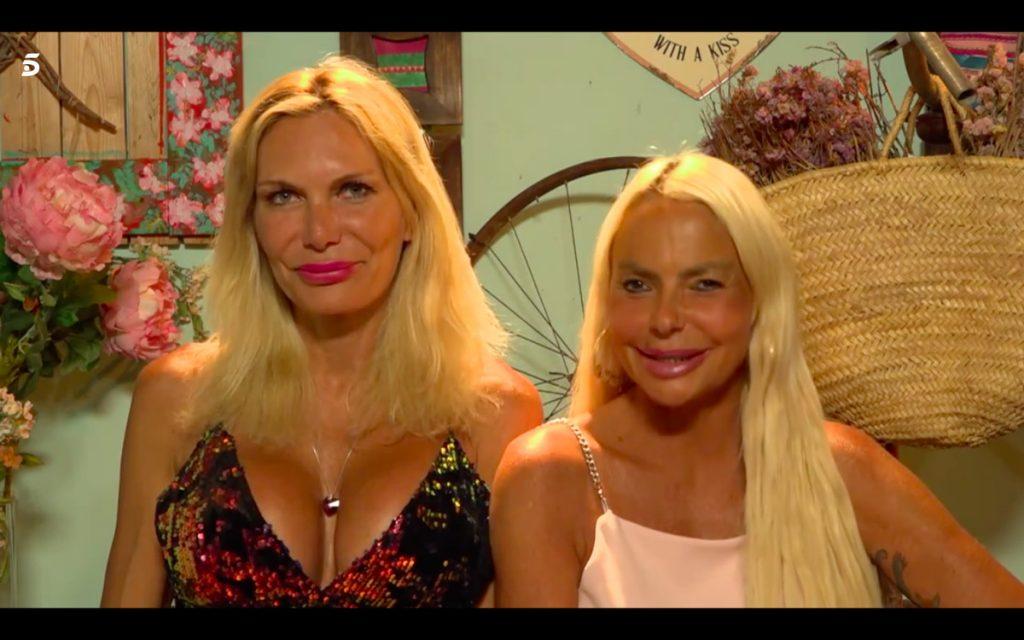 Yola y Leticia Sabater en 'La casa fuerte'.