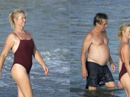 Ana Duato descansa en Ibiza con su marido Miguel Bernardeau