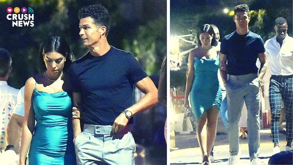 Cristiano Ronaldo y Georgina, vacaciones Portofino