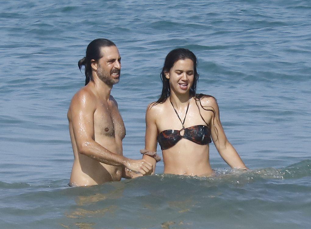 Marta Gueras y Hugo Silva vacaciones en Cádiz