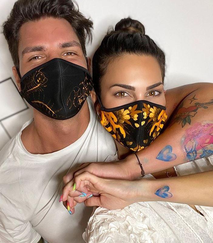 Carla Barber y Diego Matamoros.