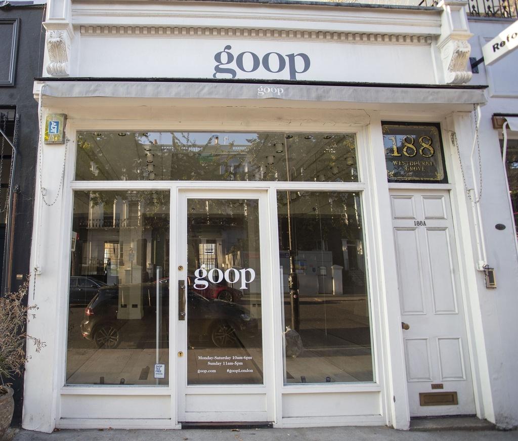 Gwyneth Paltrow cierra su tienda de Londres