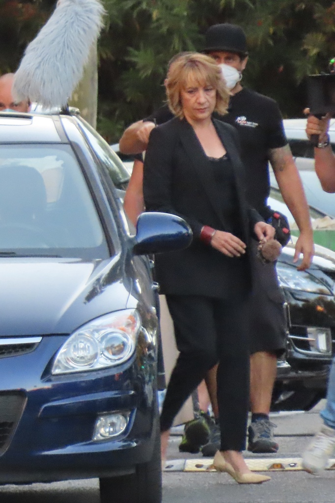 Blanca Portillo rueda 'Parot'.