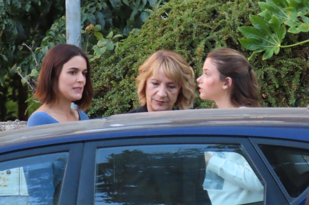 Adriana, Blanca Portillo y Nicole Wallace.