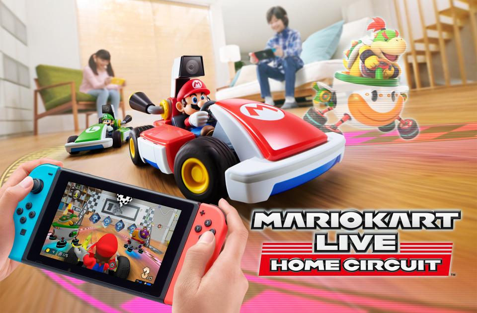 Quiero el Mario Kart Live