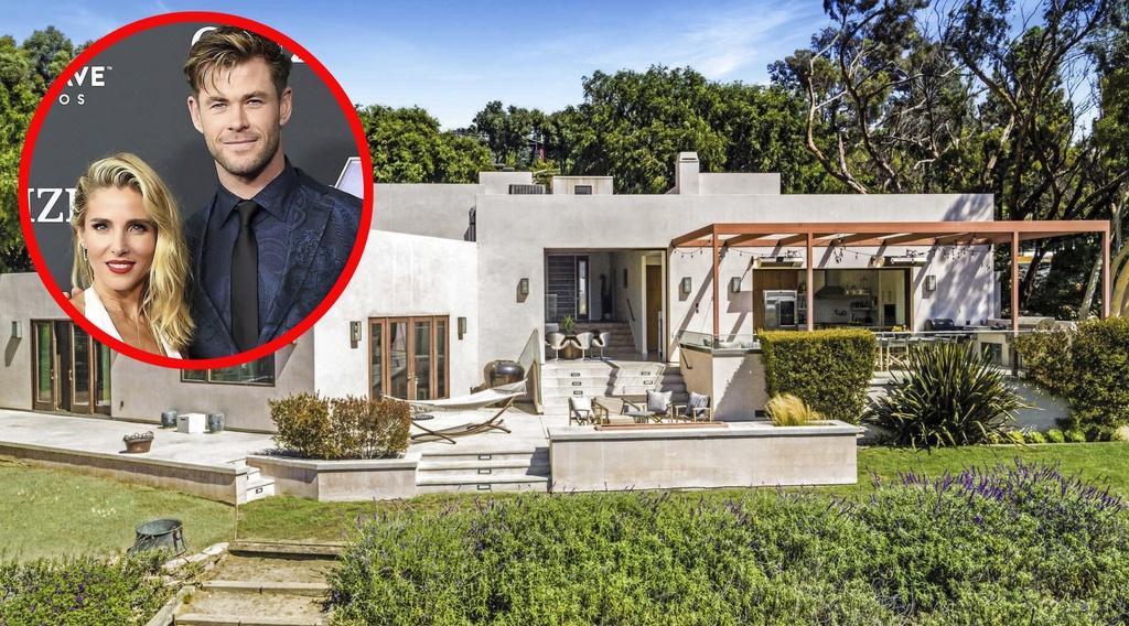 Elsa Pataky y Chris Hemsworth venden su casa en Malibú