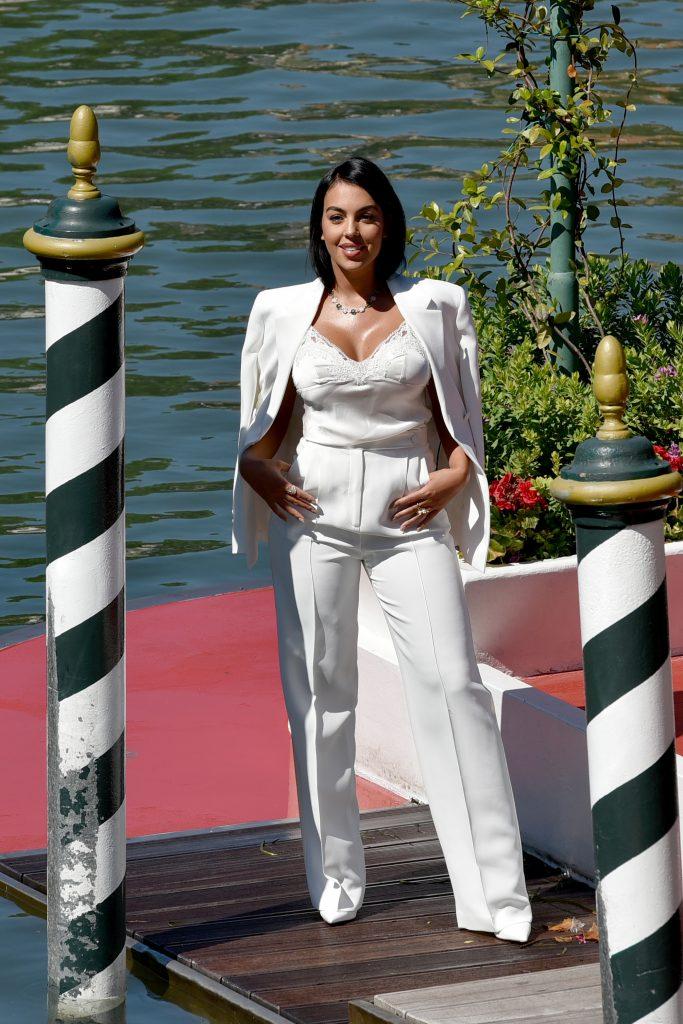 Georgina Rodriguez en Venecia.