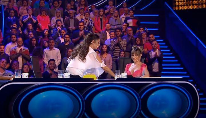 Isabel Pantoja en Idol Kids boton.