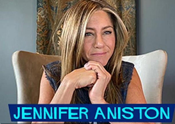 Jennifer Aniston se reune con Brad Pitt en evento online