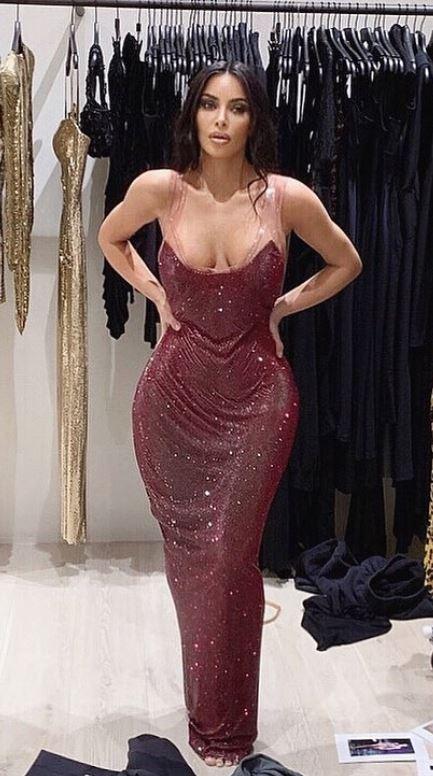 Kim kardashian instagram.