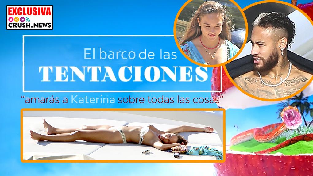 Neymary y Katerina juntos en Ibiza