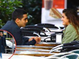 Omar y Amaia, juntos en Barcelona