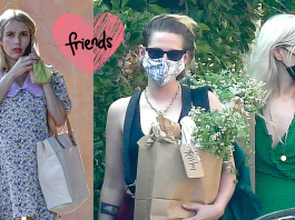 El baby shower de Emma Roberts tiene como invitada a Kristen Stewart.