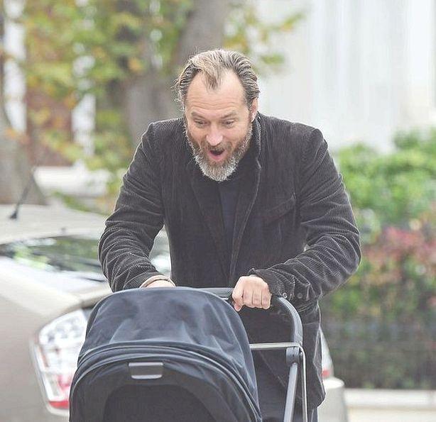Jude Law ha sido padre por sexta vez