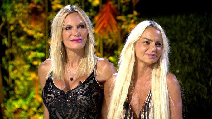 Yola Berrocal y Leticia Sabater, ganadoras de La casa fuerte.